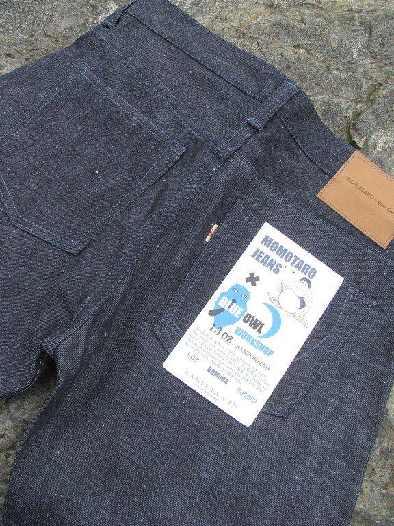 Back Pockets - Momotaro x Blue Owl Workshop Silk + Zimbabwe Collaboration