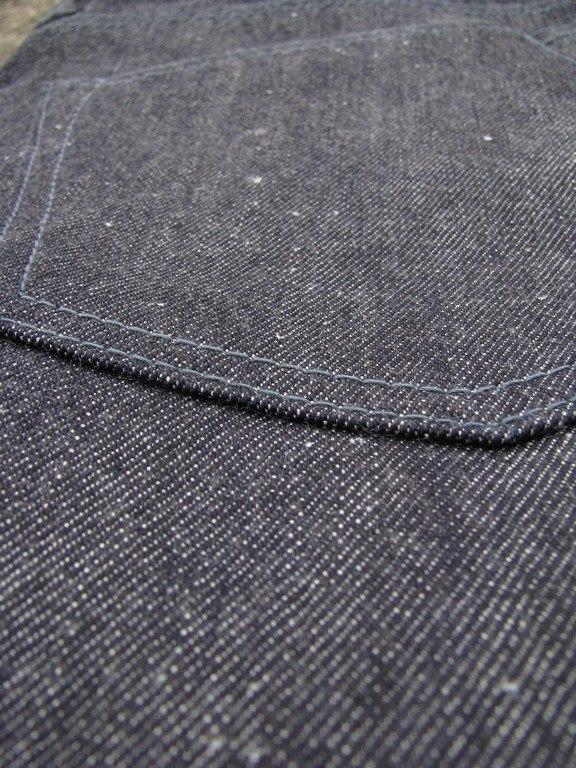 Close Up Back Pocket - Back - Momotaro x Blue Owl Workshop Silk + Zimbabwe Collaboration
