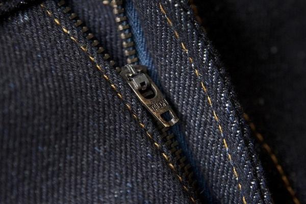 Close-up of Elhaus Zipper