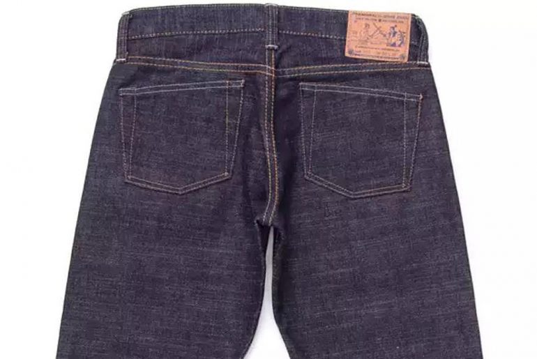 7-Pairs-of-Low-Rise-Raw-Denim-Jeans