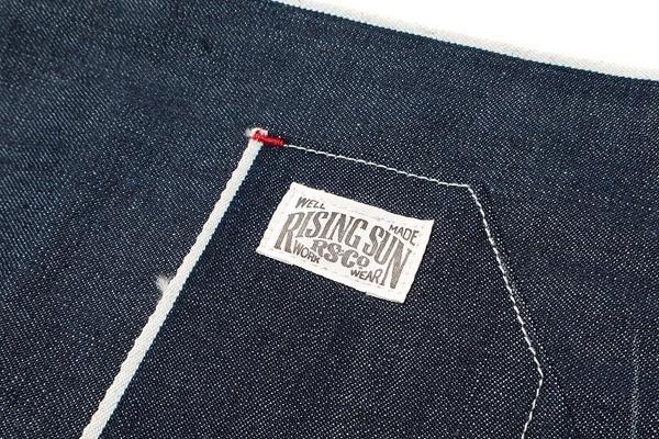 Selvedge-lined Pocket - Rising Sun & Co. Denim Apron
