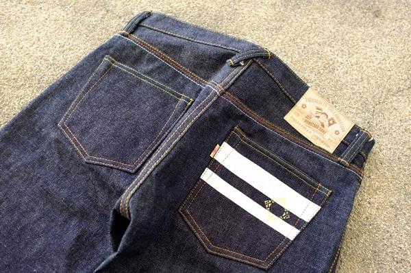 Back Pockets - Momotaro X Indigoskin 16.7 Oz 0701