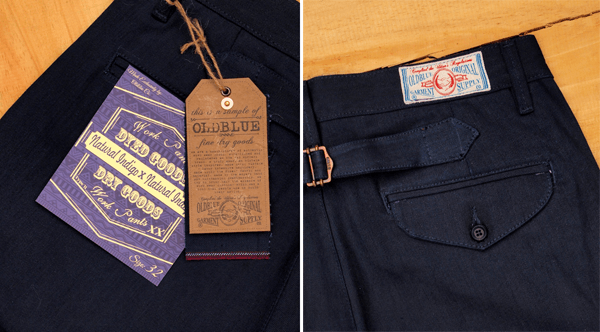 Work Pants Type II back and tags