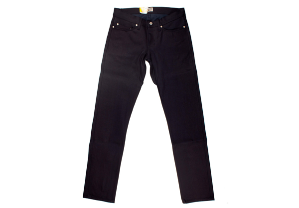 Front - Naked & Famous Weird Guy Blue Weft Selvedge