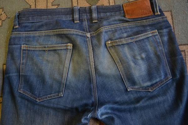 Back - Norman Porter Standard Denim (8 Months, 2 Washes)