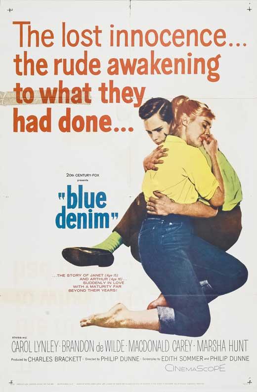 Blue Denim Movie Poster