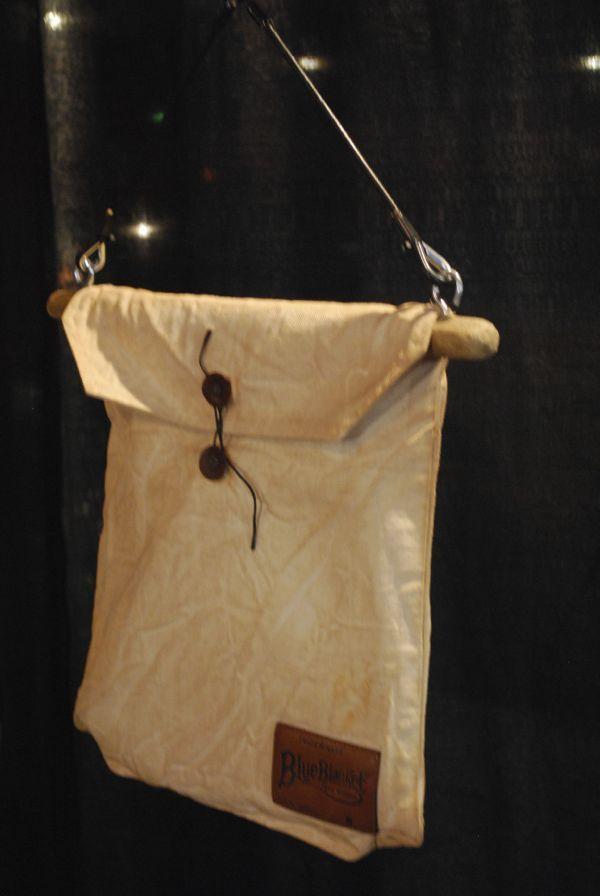 Blue Blanket deadstock fabric bag