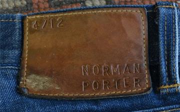 Fade Friday - Norman Porter Standard Denim (8 Months, 2 Washes)