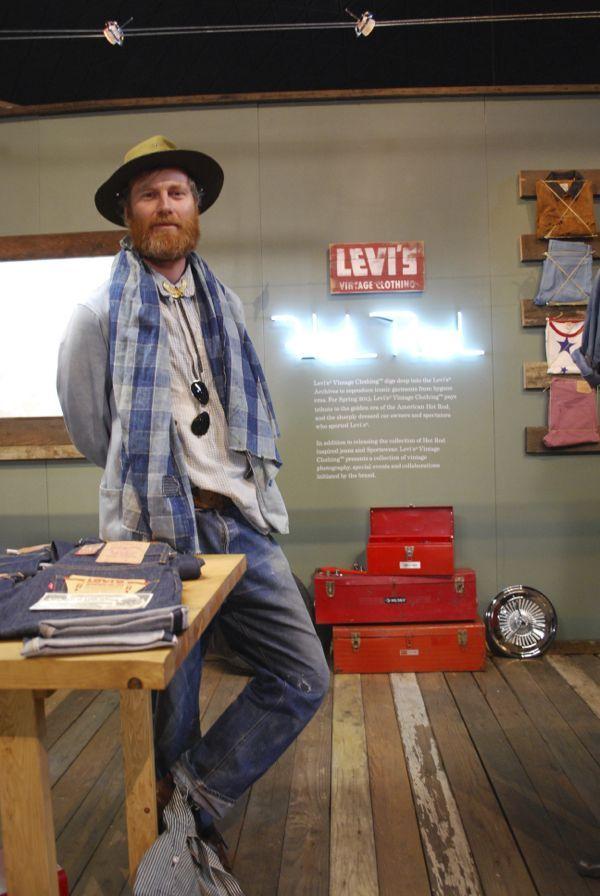 Miles Johnson of Levi's Vintage Clothing