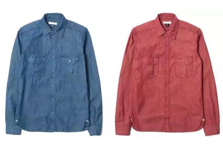 Unbranded-10-Oz-Chambray-Selvedge-Denim-Work-Shirts