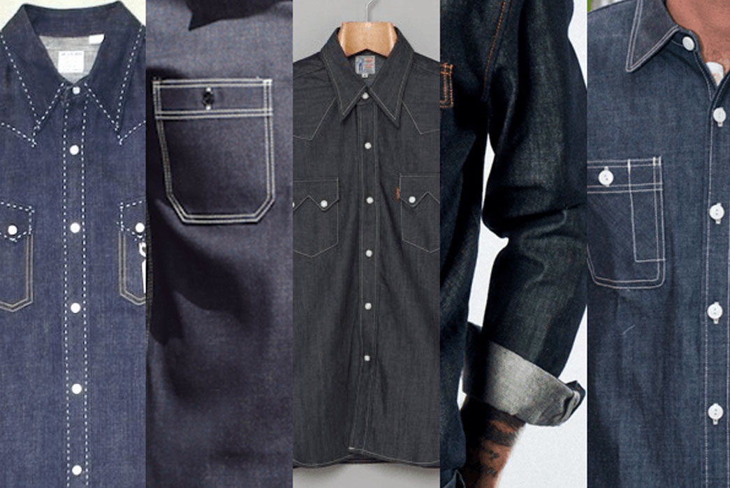 5 Raw Denim Shirts – Flat Head, Iron Heart, LVC And More