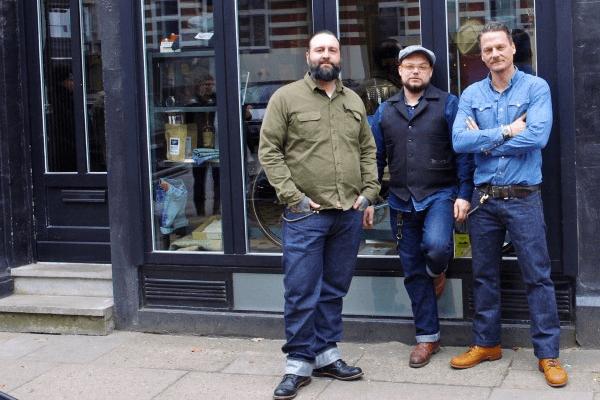 Vater & Sohn Founding Team - Sascha Kampmeyer, Tobias Pflug, Stefan Kudla (Left to Right)