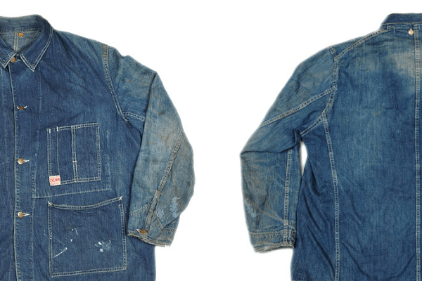 Crown Overalls Front and Back