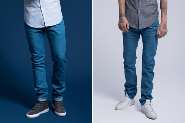 Fit - OUTCLASS Azure 12.5 Oz. Dead-Stock Denim Jeans