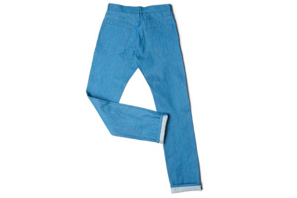 OUTCLASS Azure 12.5 Oz. Dead-Stock Denim Jeans