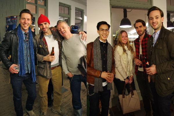 Menno van Meurs (Tenue de Nimes, Johan Honig (Denim collector), Dong Thanh (Splendid Store), Annouk Boszhard, Lennart Heeremans( DC4 blog)