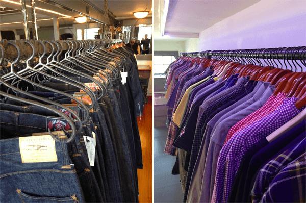 Self Edge SF Denim and Shirt Selection