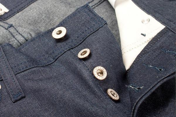 Buttons - Naked & Famous Vintage Dungaree 9.75oz Denim
