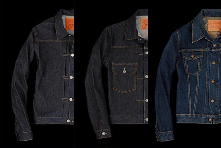 Levi's-Denim-Trucker-Jacket-Overview-Type-I-II-and-III