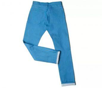 OUTCLASS-Azure-12.5-Oz-Dead-Stock-Denim-Jeans-Just-Released