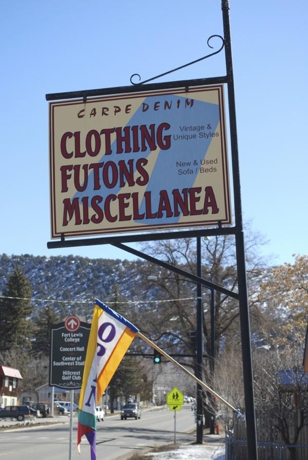 Carpe Denim - Clothing Futons Miscellanea