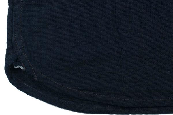 The Flat Head Glory Park Indigo Dyed Linen Shirt4