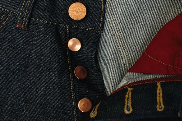 Detroit Denim Co. Heritage Jean Buttons
