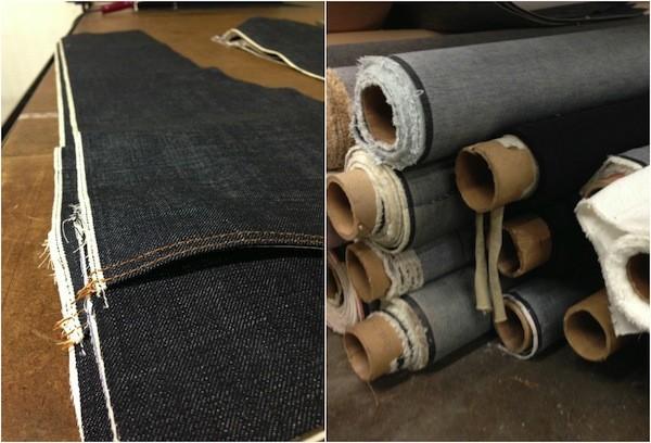 Sneak peak of fabrics and samples