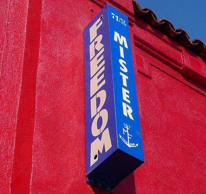 Mister Freedom Signage
