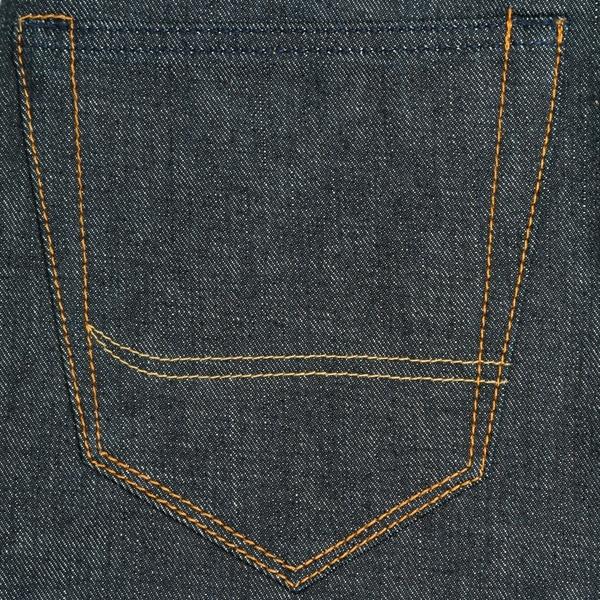 Asymmetrical back pocket