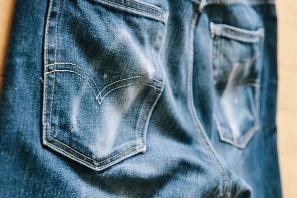 Back Close-up - Levi's 513