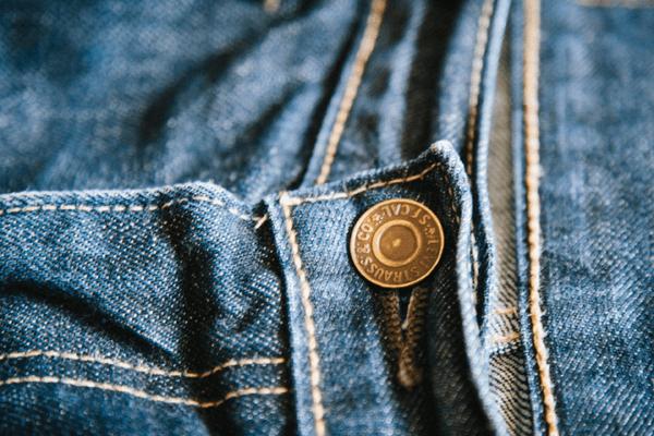 Button - Levi's 513