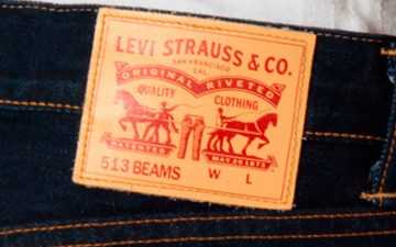 Levi's-x-BEAMS-513-Straight-Raw-Denim-Just-Released