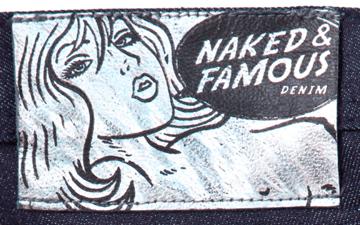 Naked & Famous Weird Guy Paper Indigo Denim For Hypebeast