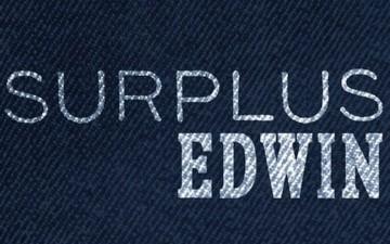 EDWIN Surplus Capsule Collection