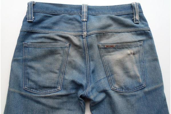 Fade Friday: Big John M106C (18 Months, 3 Washes), Back Pockets