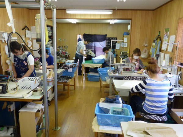 Sewing Factory Interior