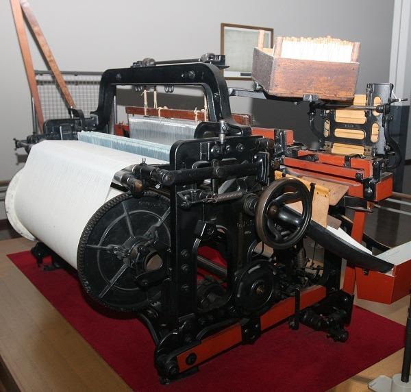 1924 Toyoda shuttle loom