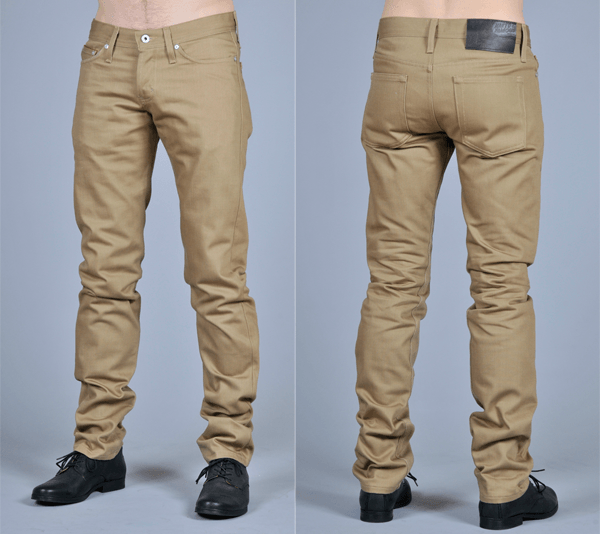 Naked & Famous Selvedge Chino Beige