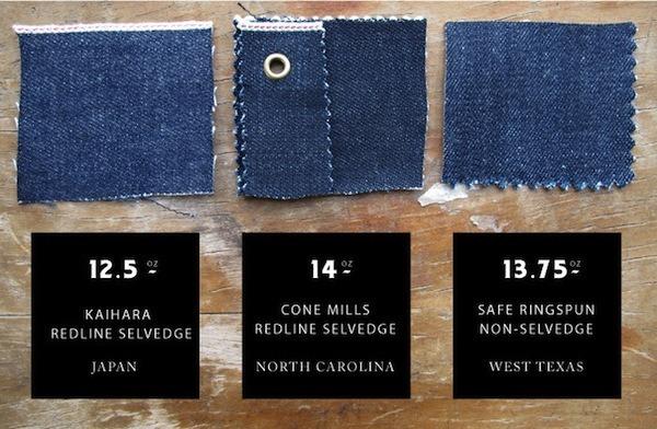Paleo Denim Fabrics