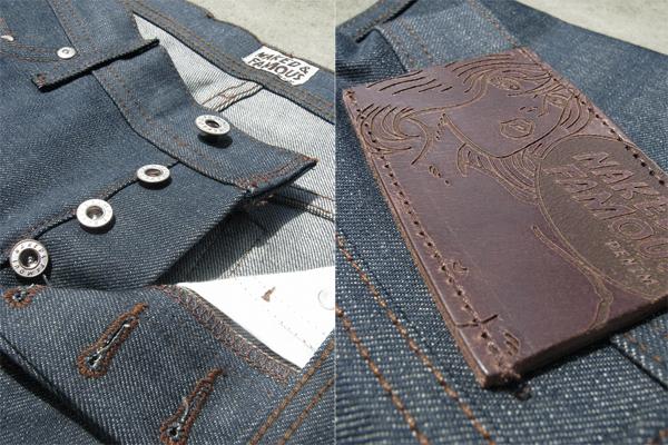 Button, Tag - Tenue de Nîmes X Tellason Garment Dyed Indigo Ladbroke Grove