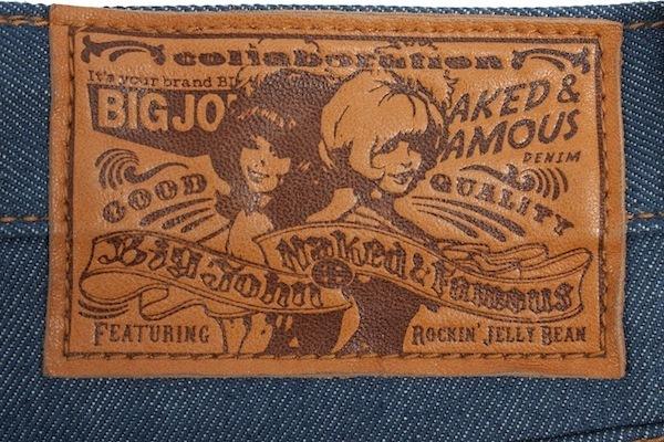 N&F x BIG JOHN Leather Patch
