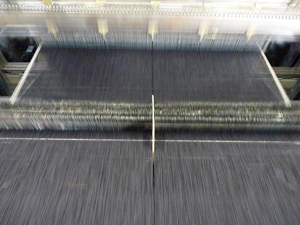 Weaving in action.