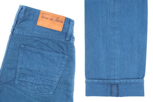 Back Pocket, Selvedge - Tenue de Nîmes X Tellason Garment Dyed Indigo Ladbroke Grove