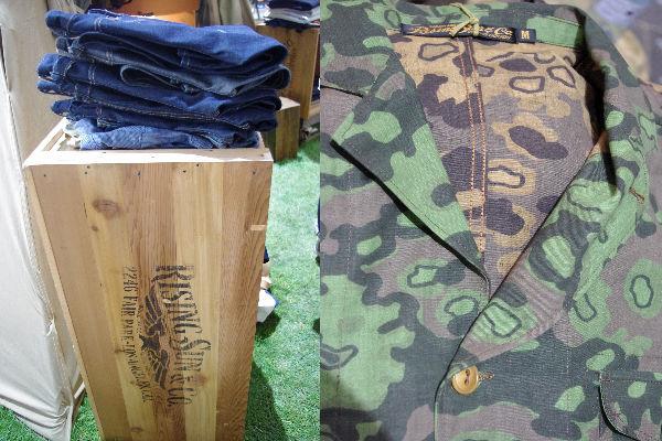 Rising Sun & Co Denim Selections and German Camo Jacket