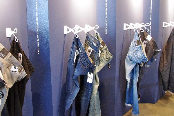Denham Denim Booth