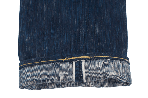 Selvedge - Self Edge x Dry Bones Natural Indigo Hank Dyed Jeans