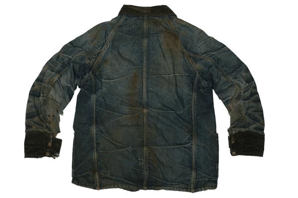 Back - The Big Favorite Denim Jacket Circa 1930