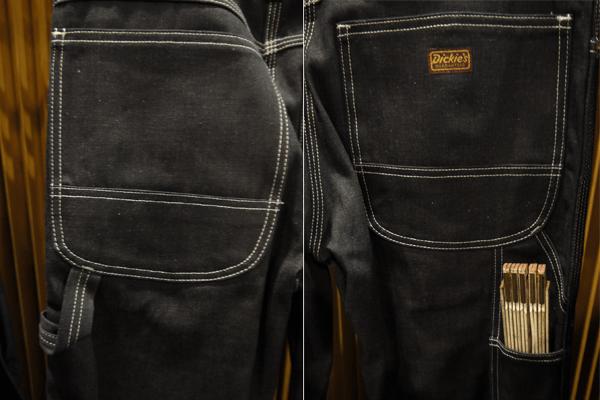 Dickies 22 Carpenter Pants Pockets