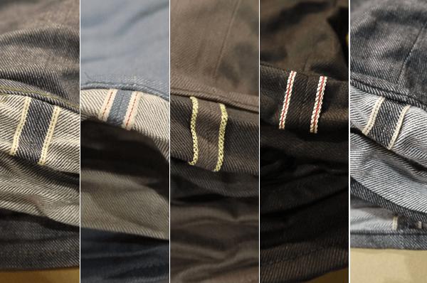 3D Denim Selvedge Variety - Fabric-Brand & Co.